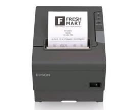 Impresora ticket epson tm-t88-v termica serie y usb negra
