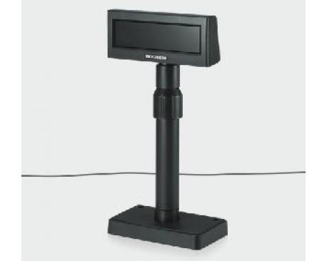 Display visor bixolon bcd-2000dg serie negro + fuente de alimentacion - Imagen 1