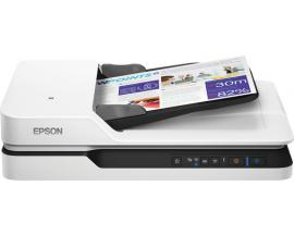 Escaner plano epson workforce ds-1660w a4/ 25ppm/ duplex/ usb 3.0/ red opcional/ wifi