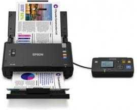 Escaner sobremesa epson workforce ds-520n a4/ 30ppm/ duplex/ red/ adf