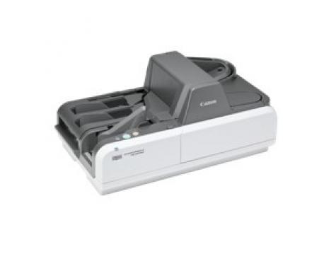 Escaner cheques canon imageformula cr-135i ii uv 135cpm/ adf/ usb/ duplex/ deteccion ultravioleta/ 24000 cheques/dia - Imagen 1