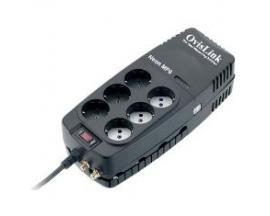 Regulador de voltaje neon 1200va 6 schuko ovislink - Imagen 1