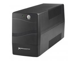 Sai ups phoenix ph650sps2 600va/360w estabilizador de tension/ funcion de arranque en frio