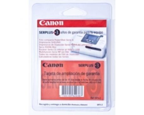 Ampliacion de garantia canon a 3 años impresoras multifuncion camaras fax escaner - Imagen 1