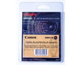Ampliacion de garantia canon a 3 años ixus laser video mx etc - Imagen 1