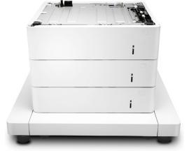 HP Alimentador de papel con armario de la impresora LaserJet de 3x550-sheet - Imagen 1
