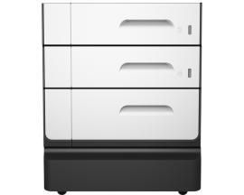 HP Soporte y bandeja de papel PageWide Pro, 2x500-sheet - Imagen 1