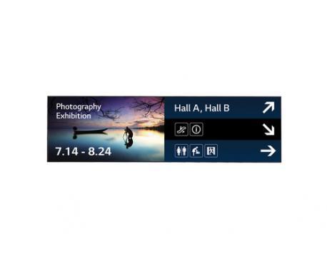 "LG 88BH7D Panorama design 88"" Negro - Imagen 1"