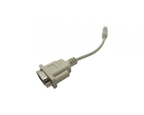 Brother PA-SCA001 DB9M RJ25 Beige cable de serie - Imagen 1