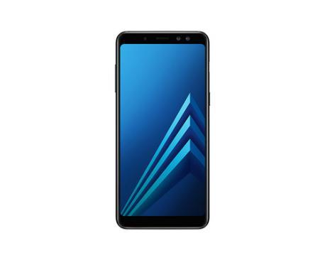 "Samsung Galaxy A8 (2018) SM-A530F/DS 14,2 cm (5.6"") 4 GB 32 GB SIM doble 4G Negro 3000 mAh - Imagen 1"