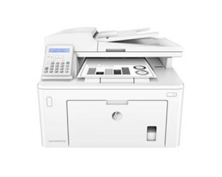 Multifuncion hp laser monocromo laserjet pro mfp m227fdn fax/ a4/ 28ppm/ usb/ red/ duplex imprseion/ adf - Imagen 1