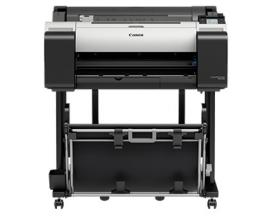"Plotter canon tm-200 imageprograf a1 24""/ 2400ppp/ usb/ red/ diseño cad/ tinta 5 colores/ tactil 3"" - Imagen 1"