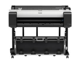 """Plotter canon tm-300 imageprograf a0 36""""/ 2400ppp/ usb/ red/ wifi/ diseño cad/ tinta 5 colores/ tactil 3"""""""