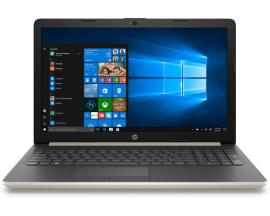 "Portatil hp 15-da0073ns i7-8550 15.6"" 8gb / 1tb / nvidiamx130 / wifi / bt / w10 / oro palido"