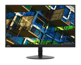"Lenovo ThinkVision S22e-19 LED display 54,6 cm (21.5"") Full HD Plana Mate Negro - Imagen 1"