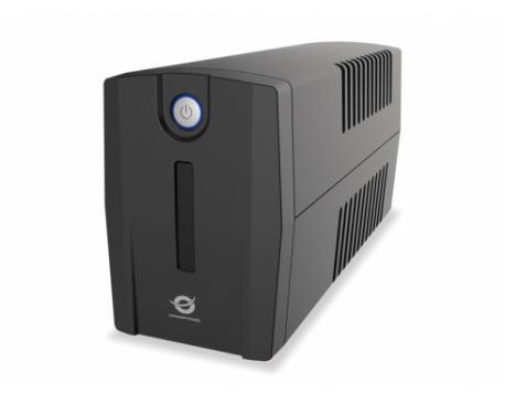 Conceptronic ZEUS 01E sistema de alimentación ininterrumpida (UPS) 650 VA 4 salidas AC Línea interactiva - Imagen 1