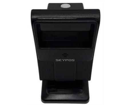 LECTOR CODIGO DE BARRAS SEYPOS DT-6600 1D/2D OMNIDIRECCIONAL USB NEGRO - Imagen 1