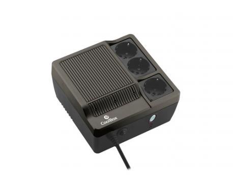 CoolBox Sai Scudo 600 sistema de alimentación ininterrumpida (UPS) 600 VA 3 salidas AC - Imagen 1