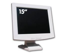 - TFT 15'' Blanco Monitores Varios - Principales Marcas - Tecnología: TFT 15'' 4:3 - Resolución: 1024 x 768 - Pixel Pitch: 0.264