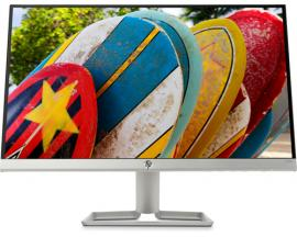 "HP 22fw LED display 54,6 cm (21.5"") Full HD Plana Mate Plata"