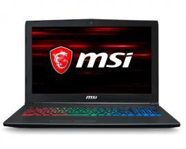 """MSI Gaming GF62 8RE-063XES Negro Portátil 39,6 cm (15.6"""") 1920 x 1080 Pixeles 2,2 GHz 8ª generación de procesadores Intel® Core™"""