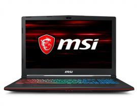 """MSI Gaming GP63 8RE-675ES Leopard Negro Portátil 39,6 cm (15.6"""") 1920 x 1080 Pixeles 2,2 GHz 8ª generación de procesadores Intel"""