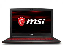 """MSI Gaming GL63 8RD-676XES Negro Portátil 39,6 cm (15.6"""") 1920 x 1080 Pixeles 2,2 GHz 8ª generación de procesadores Intel® Core™"""