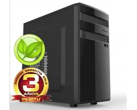 Ordenador phoenix topvalue intel i3 4gb ddr4 240 gb ssd f.a.300w eficiencia energetica rw micro atx