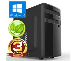 Ordenador phoenix topvalue intel i3 4gb ddr4 240 gb ssd f.a.300w eficiencia energetica rw micro atx windows 10