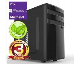 Ordenador phoenix topvalue intel i3 4gb ddr4 240 gb ssd f.a.300w eficiencia energetica rw micro atx windows 10 pro