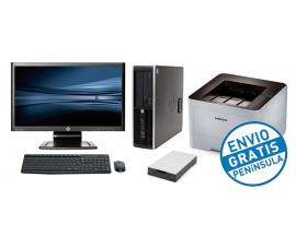- BUNDLE OFICINA Intel Core i3 3220 3,3 GHz.· 4 Gb. DDR3 · 500 Gb. · DVD · COA Windows 7 Professional · TFT HP LA2006X 20'' 16:9