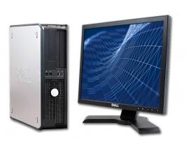 Dell GX760SD + TFT 17''Intel Core 2 Duo E8400 3 GHz. - 4 Gb. DDR2 - 160 Gb. HD SATA - Lector DVD - COA Windows 7 Professiona