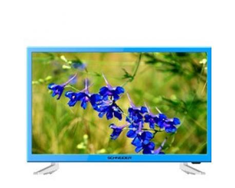 "Tv schneider 24"" led hd azul/ hdmi/ usb/ vga/ modo hotel - Imagen 1"