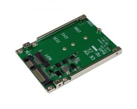 StarTech.com Adaptador Conversor SSD M.2 NGFF a SATA de 2,5 Pulgadas - Convertidor M2 a SATA