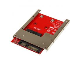 StarTech.com Adaptador Conversor de SSD mSATA a SATA de 2,5 Pulgadas - Convertidor - Imagen 1
