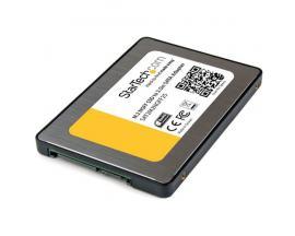 StarTech.com Adaptador SSD M.2 a SATA III de 2,5 Pulgadas con Carcasa Protectora - Conversor NGFF de Unidad SSD - Imagen 1