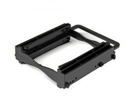 """StarTech.com Bracket de Montaje para 2 Unidades de DD/SSD de 2,5"""" en Bahía de 3,5"""" - Sin herramientas - Imagen 1"""