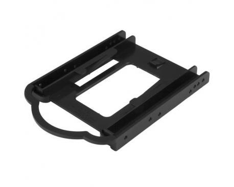 """StarTech.com Bracket de Montaje de DD/SSD de 2,5 para Bahía de 3,5"""" - Instalación sin Herramientas - Imagen 1"""