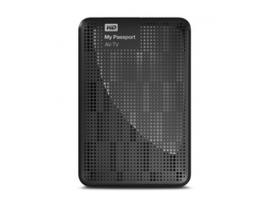 Western Digital My Passport AV-TV 1TB disco duro externo 1000 GB Negro
