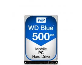 Western Digital Blue PC Mobile disco duro interno Unidad de disco duro 500 GB Serial ATA III - Imagen 1