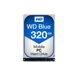 Western Digital Blue PC Mobile disco duro interno Unidad de disco duro 320 GB Serial ATA III - Imagen 1