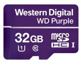 Western Digital Purple memoria flash 32 GB MicroSDHC Clase 10 - Imagen 1