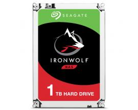 Seagate IronWolf ST1000VN002 disco duro interno Unidad de disco duro 1000 GB Serial ATA III - Imagen 1