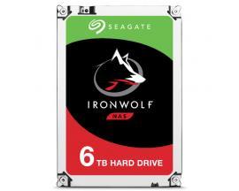Seagate IronWolf ST6000VN0033 disco duro interno Unidad de disco duro 6000 GB Serial ATA III - Imagen 1