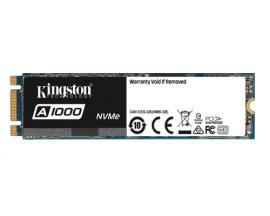 Kingston Technology A1000 480 GB PCI Express M.2 - Imagen 1