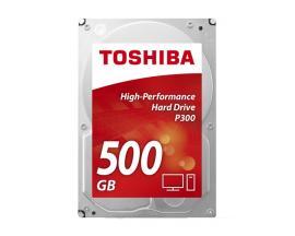 Toshiba P300 500GB disco duro interno Unidad de disco duro Serial ATA III - Imagen 1