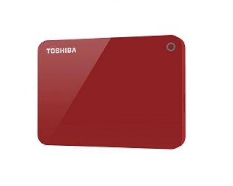 Toshiba Canvio Advance disco duro externo 3000 GB Rojo - Imagen 1
