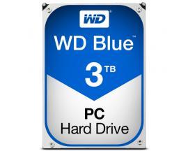 """Disco duro interno hdd wd western digital blue wd30ezrz 3tb 3000gb 3.5"""" sata 6gb/s 5400rpm 64mg"""