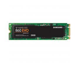 Disco duro interno solido ssd samsung mz-n6e250 / 860 evo/ 250gb/ m.2