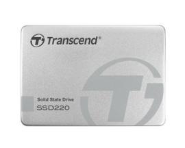 """Disco duro interno solido hdd ssd transcend ssd220s 480gb 2.5"""" sata iii 6gb/s/ tlc/ carcasa de aluminio - Imagen 1"""